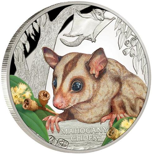 Монета «Изящная сумчатая летяга»
