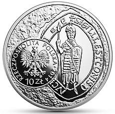 Bracteate of Leszek I the White