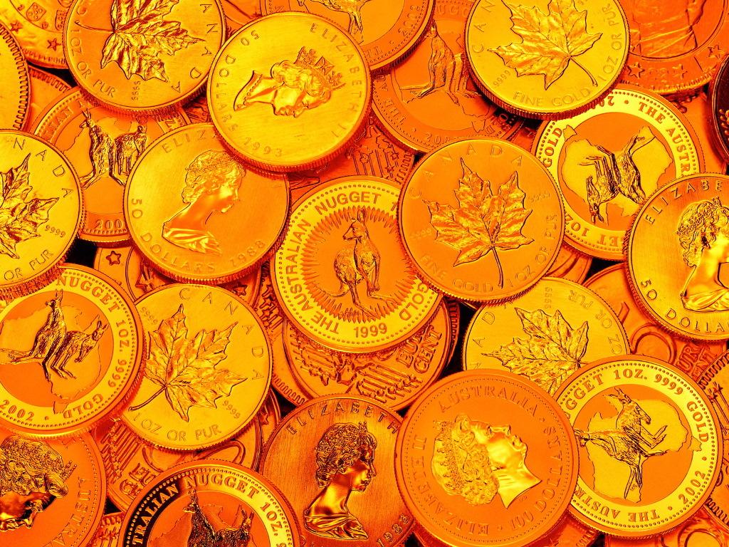 В России вырос спрос на золотые слитки и монеты