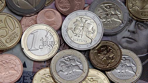 Литва начнет чеканить евровые монеты с 2015 года