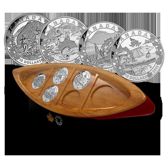 Серия монет «Красное каное»