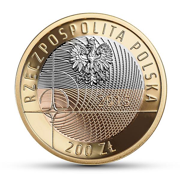 Монета «100-летие восстановления традиций Варшавского политехнического университета»