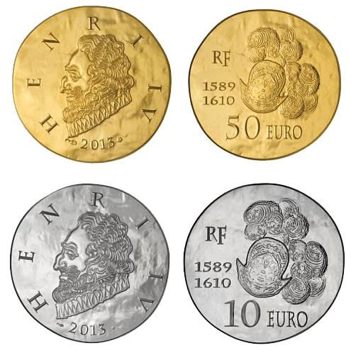 Новая монета серии «Французские правители»