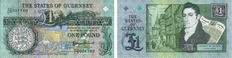 DE LE RUE на банкнотах