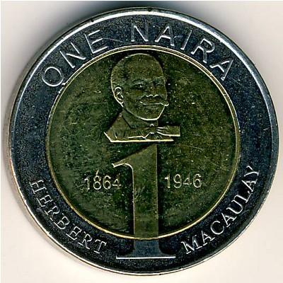 Nigeria 1 Naira 2006