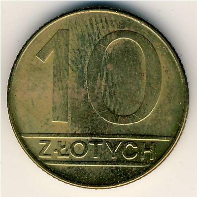 Сколько стоит 10 zlotych 1990 монета рубль 1817 года цена