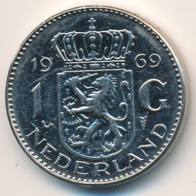 Нидерланды, 2 1/2 гульдена (1969 г
