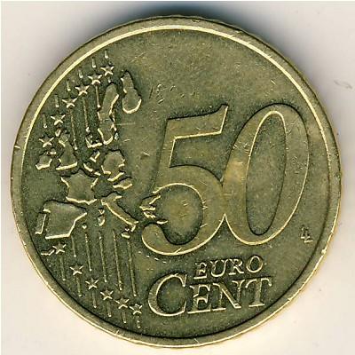 50 евроцентов 2001 года цена 10 грошей 2003 года цена