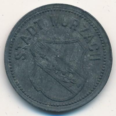 Бад-Вурцах., 50 пфеннигов (1918 г.)
