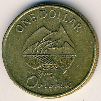 Австралия, 1 доллар (2002 г