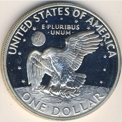 Доллар Эйзенхауэра, 1 доллар 1976, 1 доллар 1971
