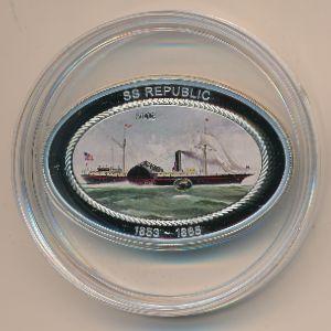 Острова Кука, 5 долларов (2013 г.)
