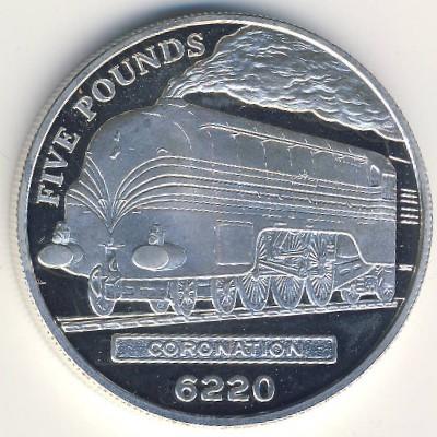 Джерси, 5 фунтов (2004 г.)