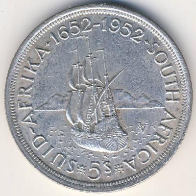 ЮАР, 5 шиллингов (1952 г.)