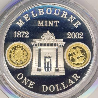 Австралия 5 долларов 2002 год
