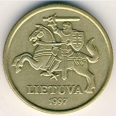 Монета литва 20 центов 1997 всероссийская нумизматическая конференция