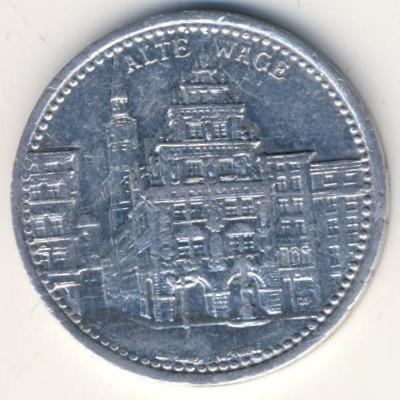 Нейсе., 50 пфеннигов (1921 г.)