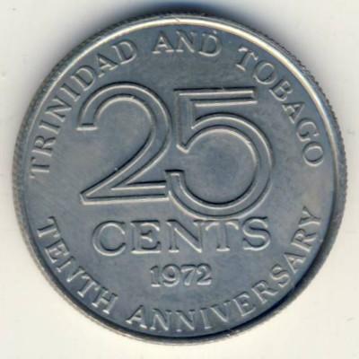 25 центов тринидад и тобаго редкие монеты казахстана
