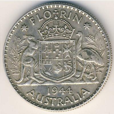 Münzen International Australia 1 Florin 1938 Unc