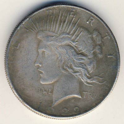 Копии, 1 доллар (1922 г.)