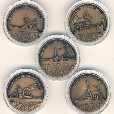 Турция, Набор монет (2015 г.)