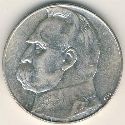 10 злотых 1934 жотен