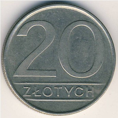20 zlotych 1987 цена post delivery в россии