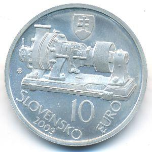 Словакия, 10 евро (2009 г.)