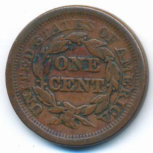 США, 1 цент (1850 г.)