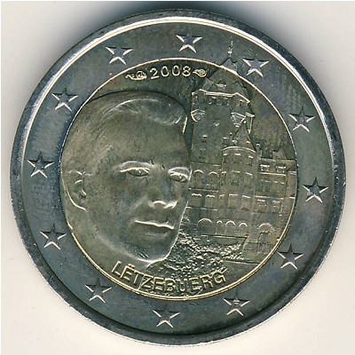 coins catalog luxemburg 2 euro km 96 numismatics. Black Bedroom Furniture Sets. Home Design Ideas