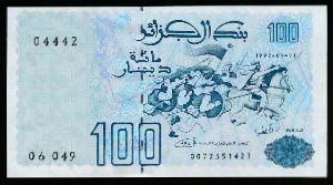 Алжир, 100 динаров (1992 г.)
