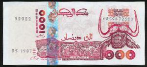 Алжир, 1000 динаров (1998 г.)