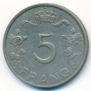 Люксембург, 5 франков (1949 г.)