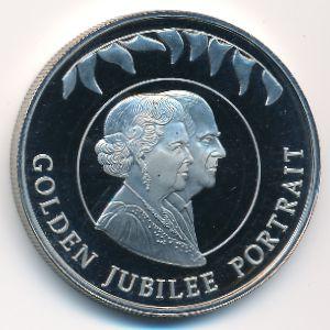 Фолклендские острова, 50 пенсов (2002 г.)