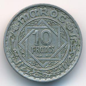 Марокко, 10 франков (1946 г.)