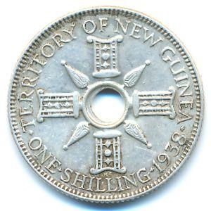Новая Гвинея, 1 шиллинг (1938 г.)