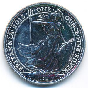 Великобритания, 2 фунта (2013 г.)