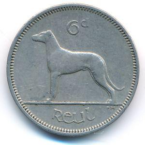 Ирландия, 6 пенсов (1958 г.)