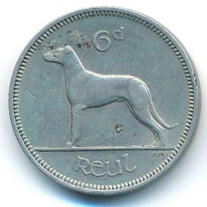 Ирландия, 6 пенсов (1960 г.)