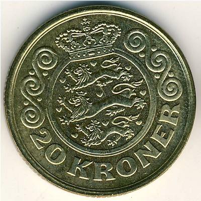 Дания 20 крон монеты времен ивана грозного цена