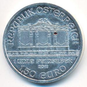 Австрия, 1 1/2 евро (2011 г.)