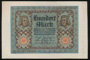 Германия, 100 марок (1920 г.)
