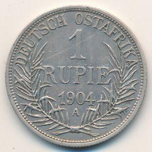 Немецкая Африка, 1 рупия (1904 г.)