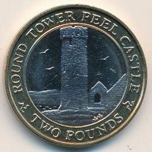Остров Мэн, 2 фунта (2009 г.)