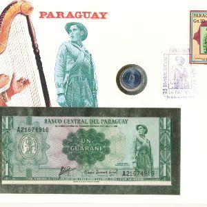 Парагвай, 1 гуарани (1980 г.)
