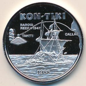 Самоа, 10 тала (1988 г.)