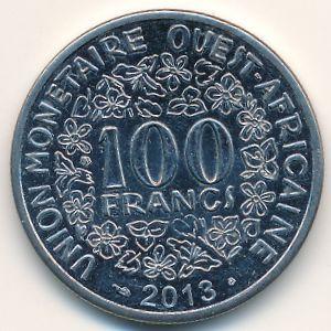 Западная Африка, 100 франков (2013 г.)