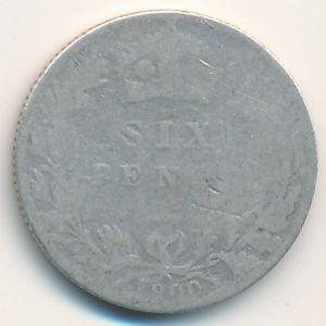 Великобритания, 6 пенсов (1900 г.)