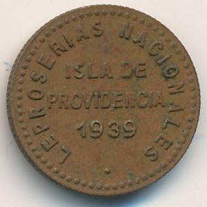 Провиденсия, 0,05 боливара (1939 г.)