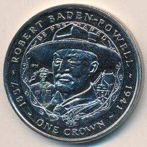 Фолклендские острова, 1 крона (2007 г.)
